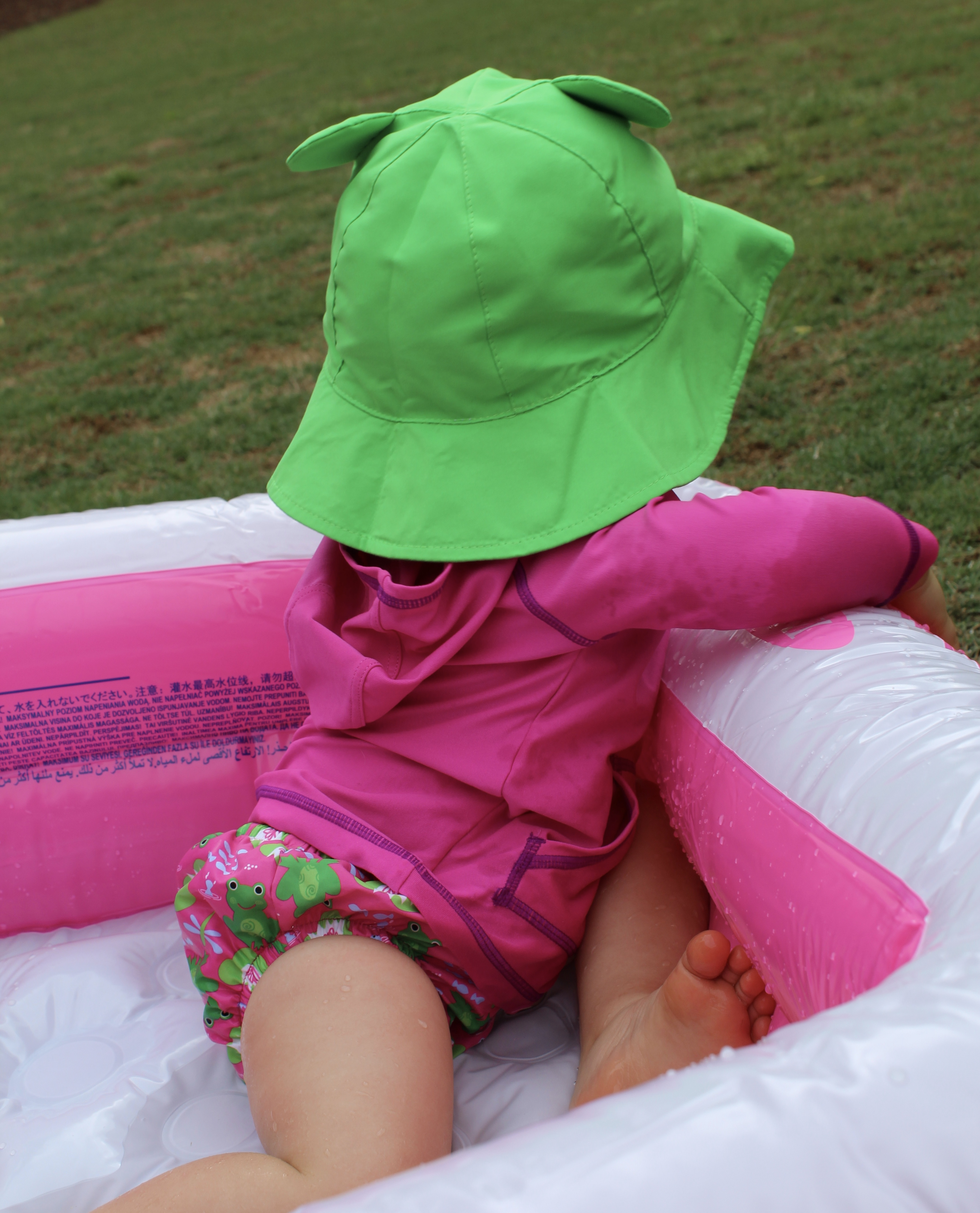 Summer Equals Sun Hats and Swim Diapers