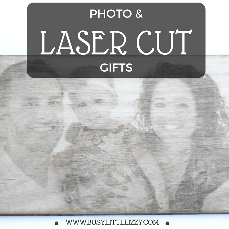 Photo and Laser Cut Gifts