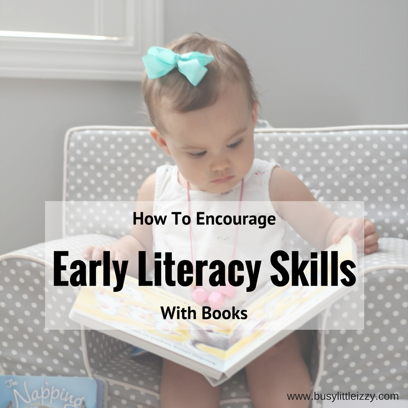 How to Encourage Early Literacy Skills with Books