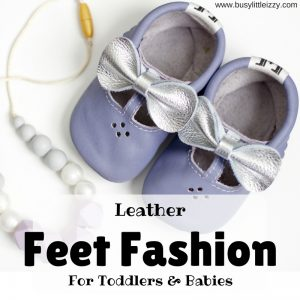 Leather feet fashion