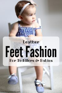 Leather feet fashion for toddlers and babies