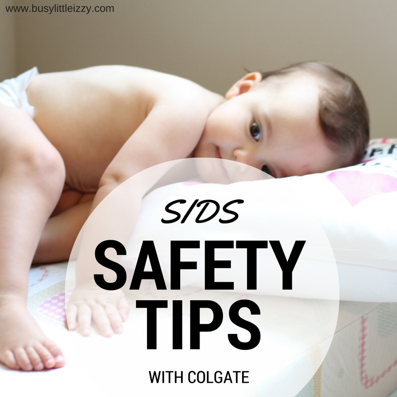 SIDS Safety Tips with Colgate