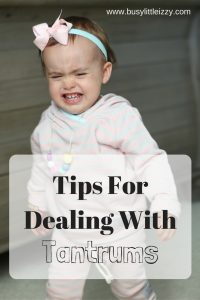 Tips ForDealing With Tantrums