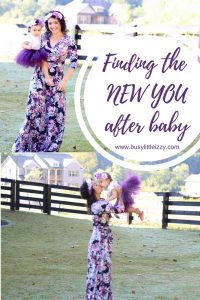 Finding the NEW YOUafter baby