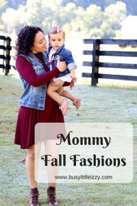Mommy Fall Fashions