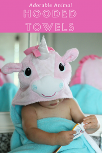 Adorable Hooded Towels