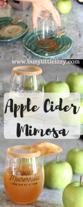 Apple CiderMimosa