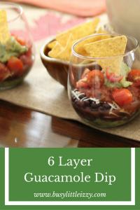 6 Layer Guacamole Dip