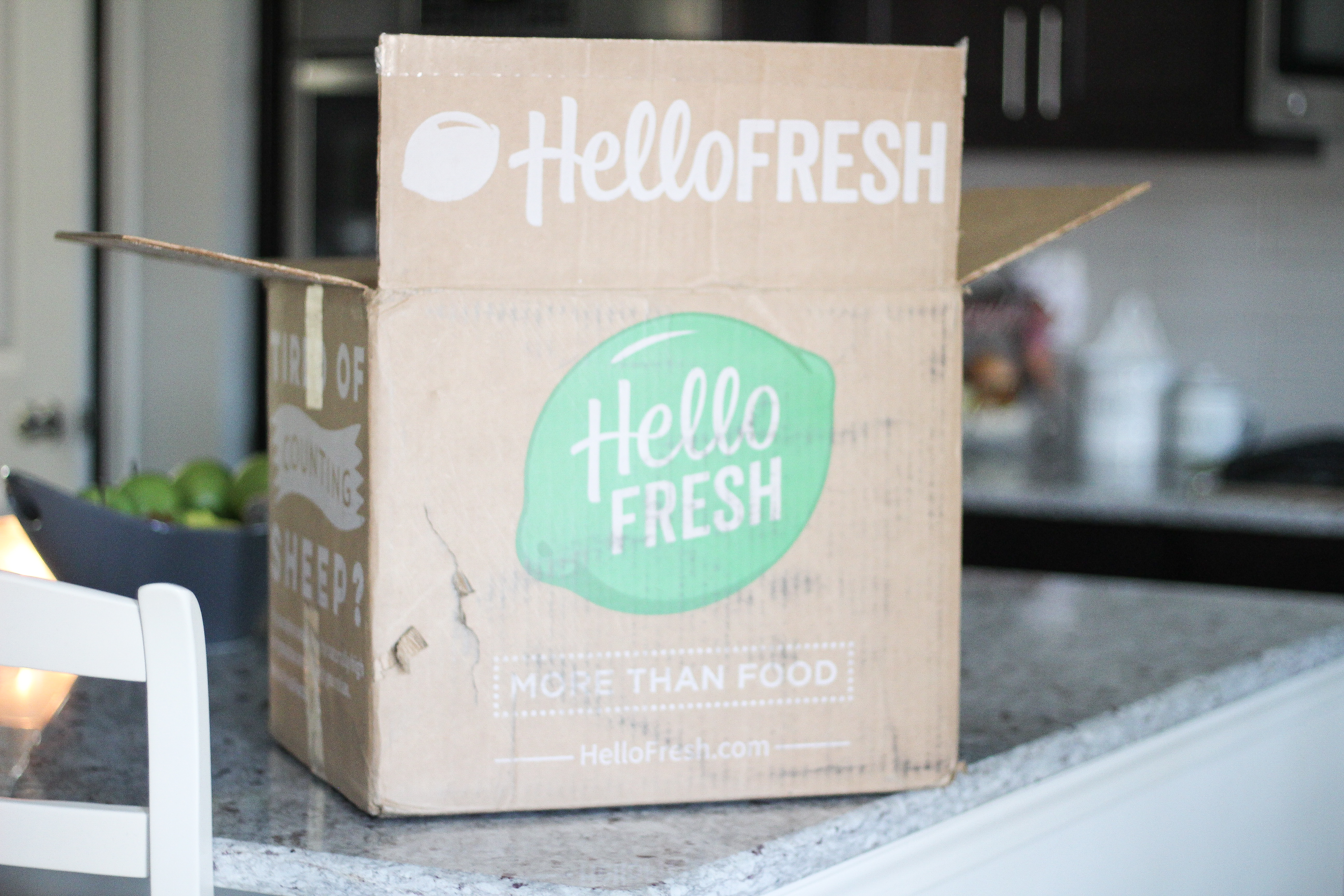 Making Dinner Easy with Hello Fresh