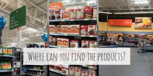 Where can you find the products