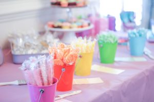 Shop This Decor Pink Bucket Party City
