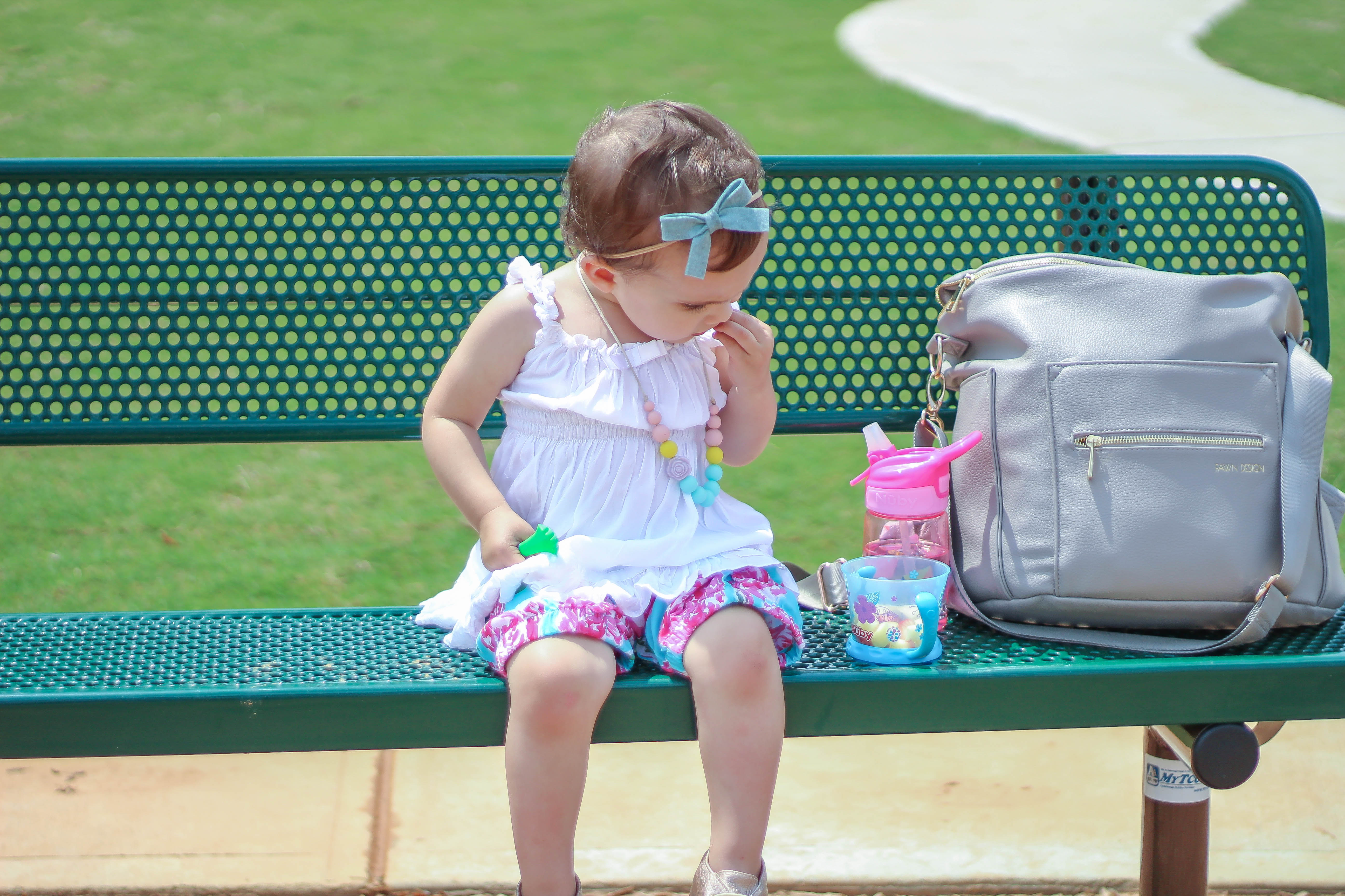 Playground Snacking with Nuby