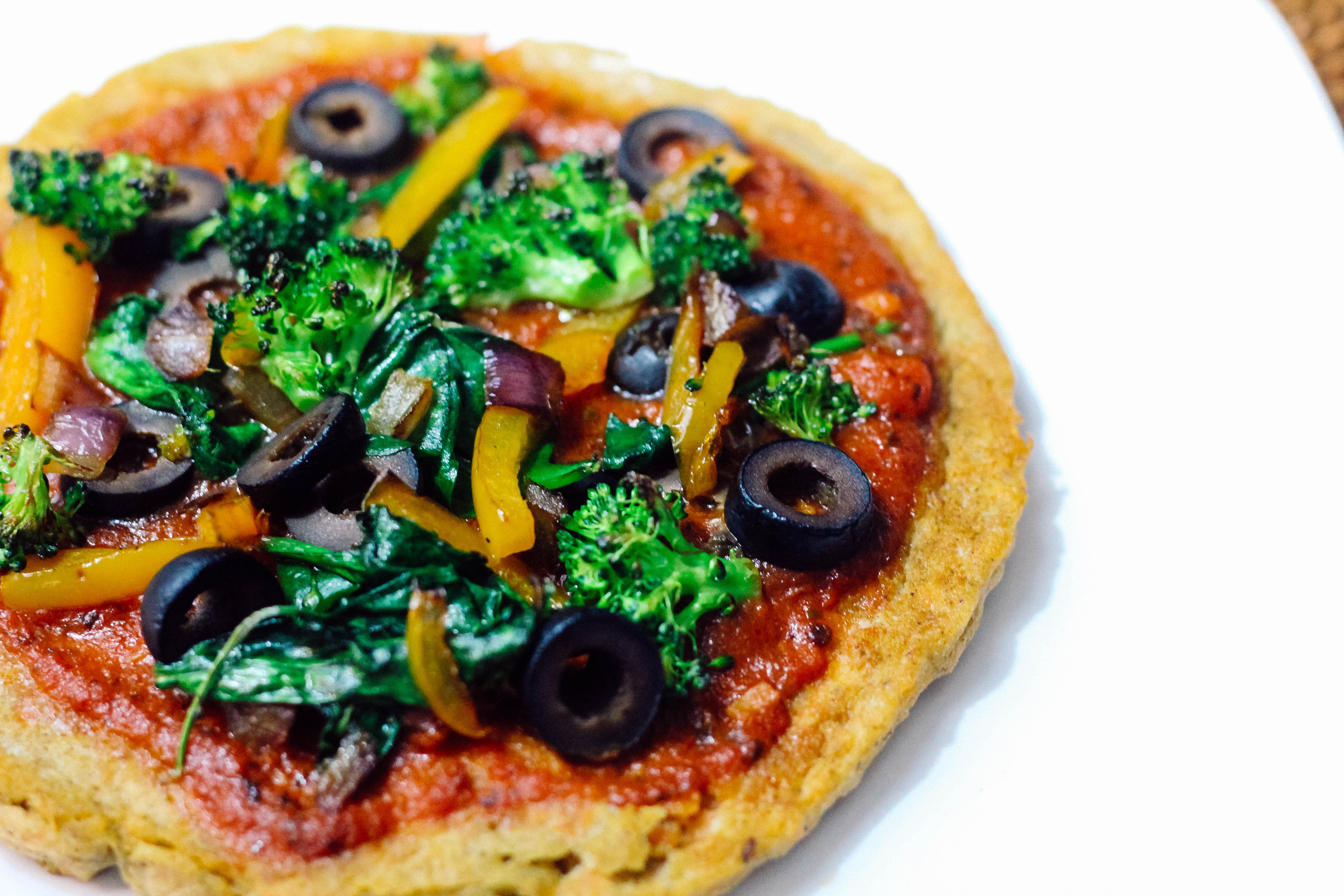Lentil Pizza ~ Gluten Free & Vegan