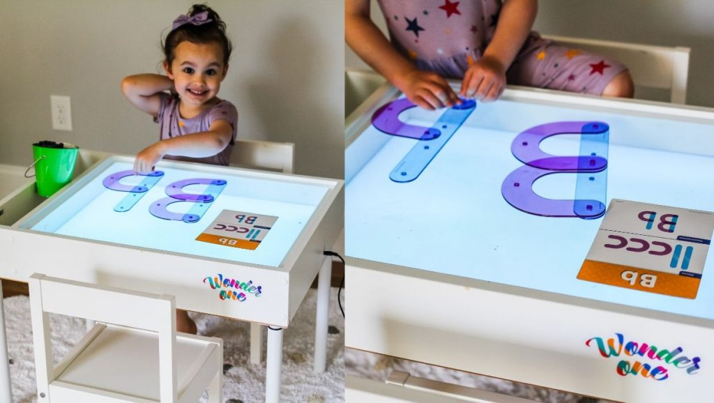 Superb Letter B Light Table Activities Download Free Architecture Designs Salvmadebymaigaardcom