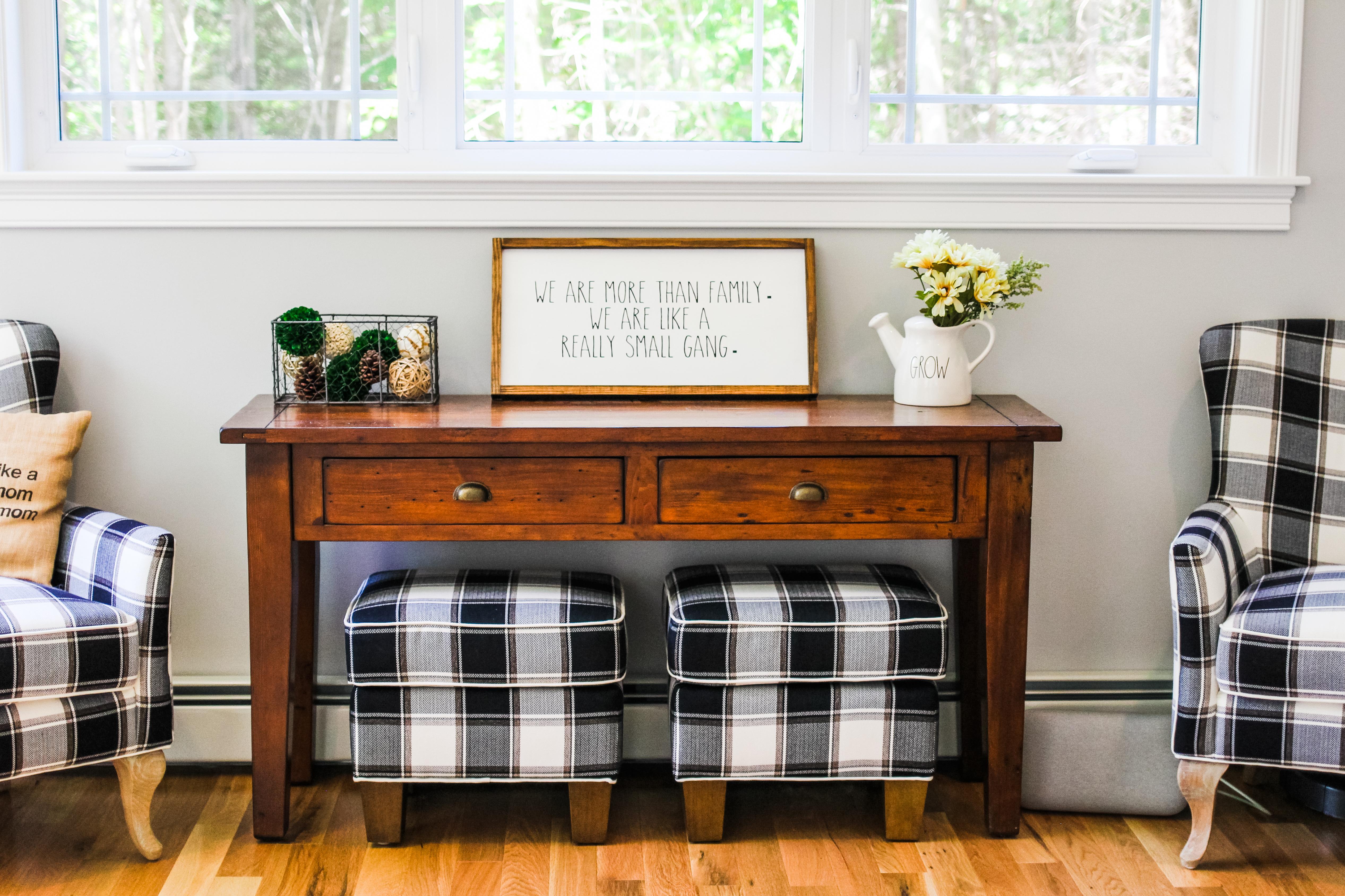 Cozy Farmhouse Style Living Room