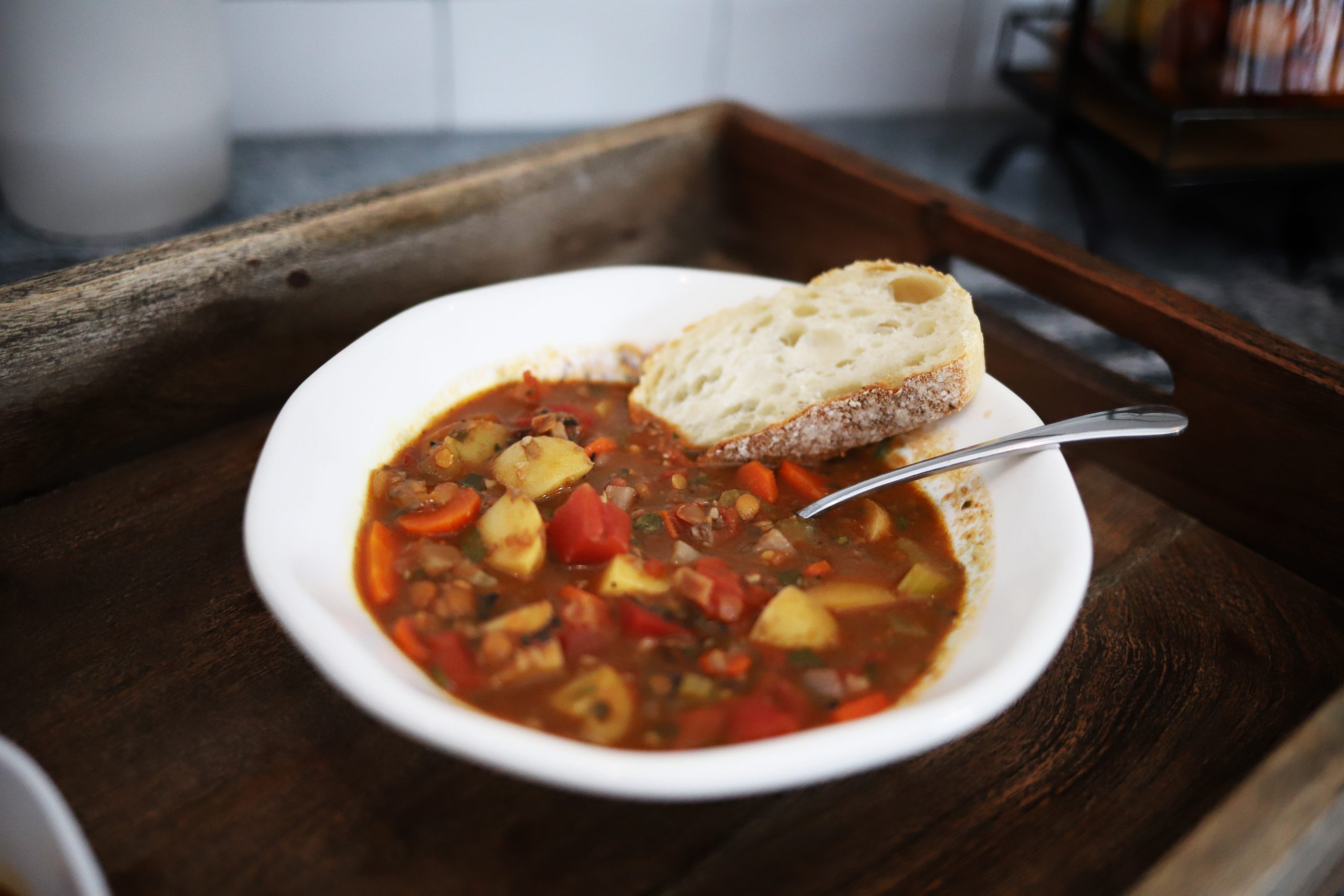 Plant Based, Vegetable Beef-free Stew