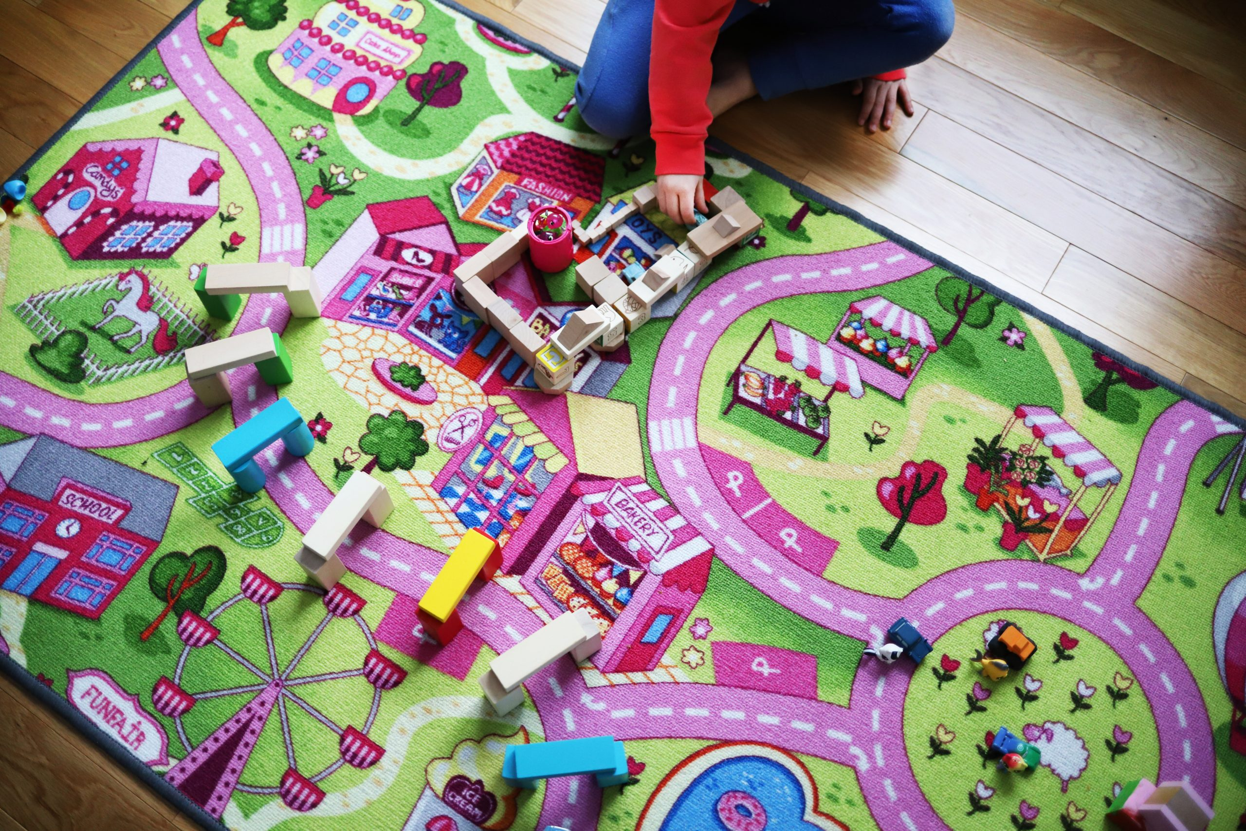 Just Play! How Play Carpets Can Support Your Child's Development.
