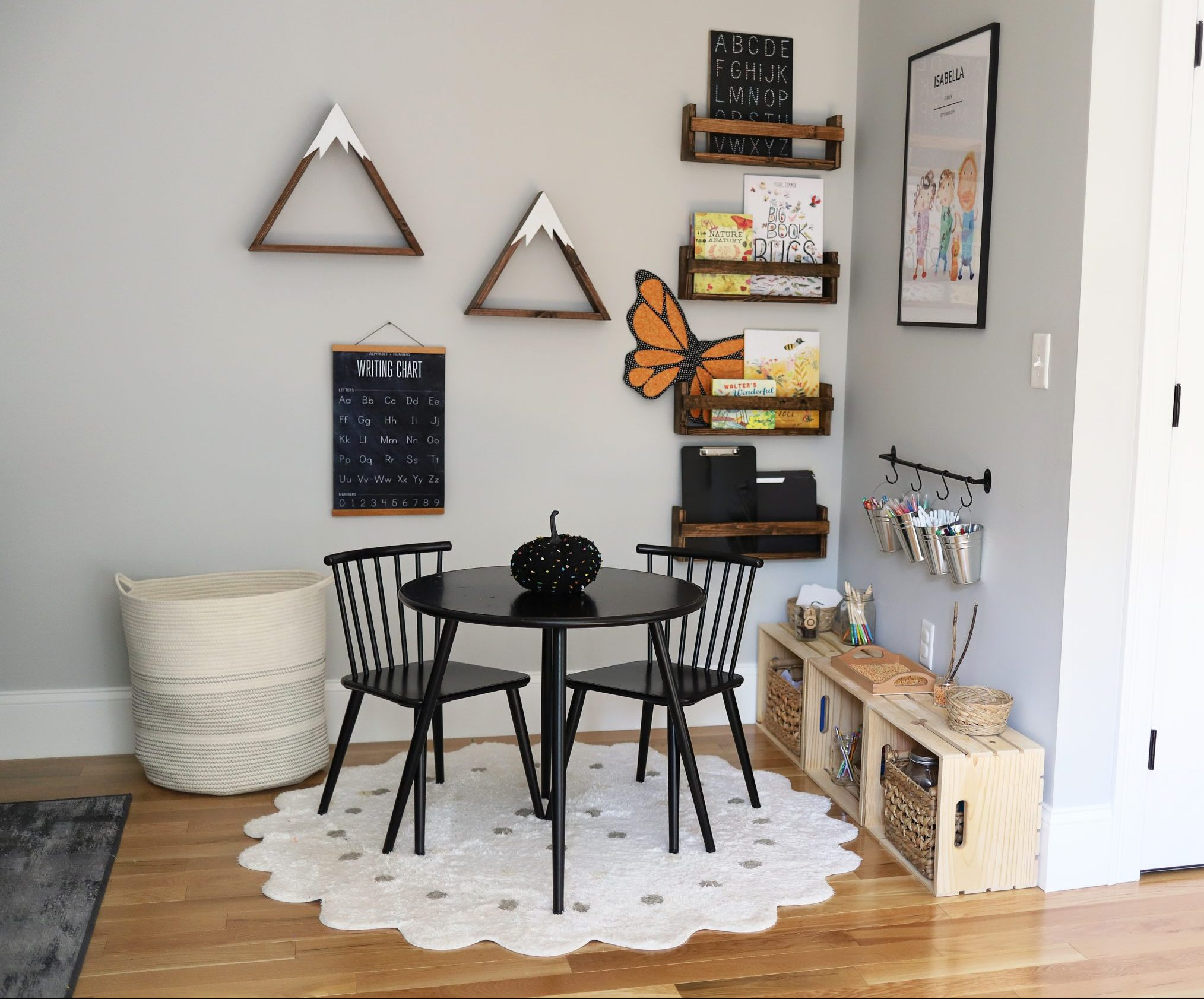 Creating a Learning Space for Homeschool or as a Homework Station