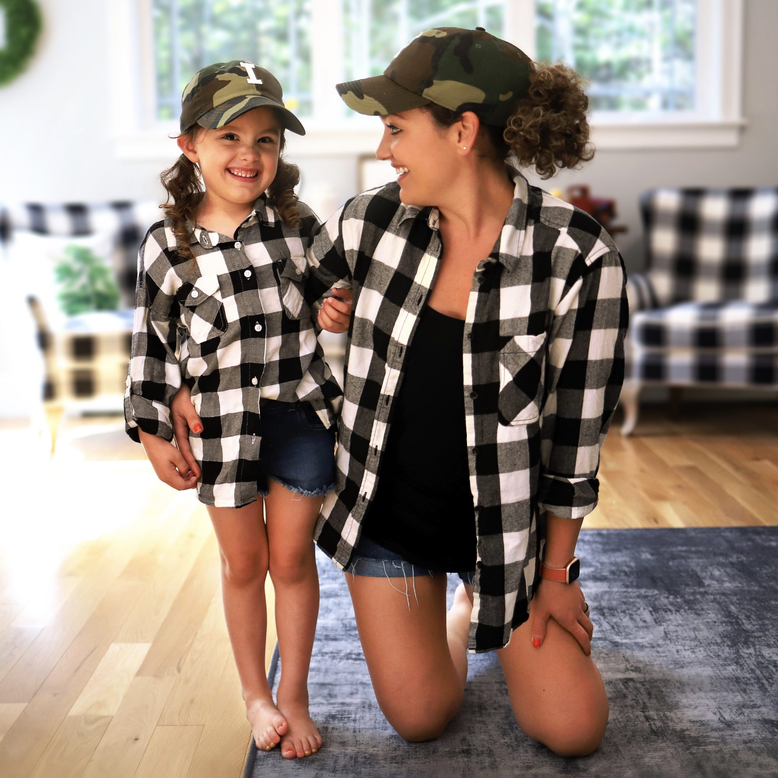 The Softest Buffalo Plaid Mommy & Me Tops