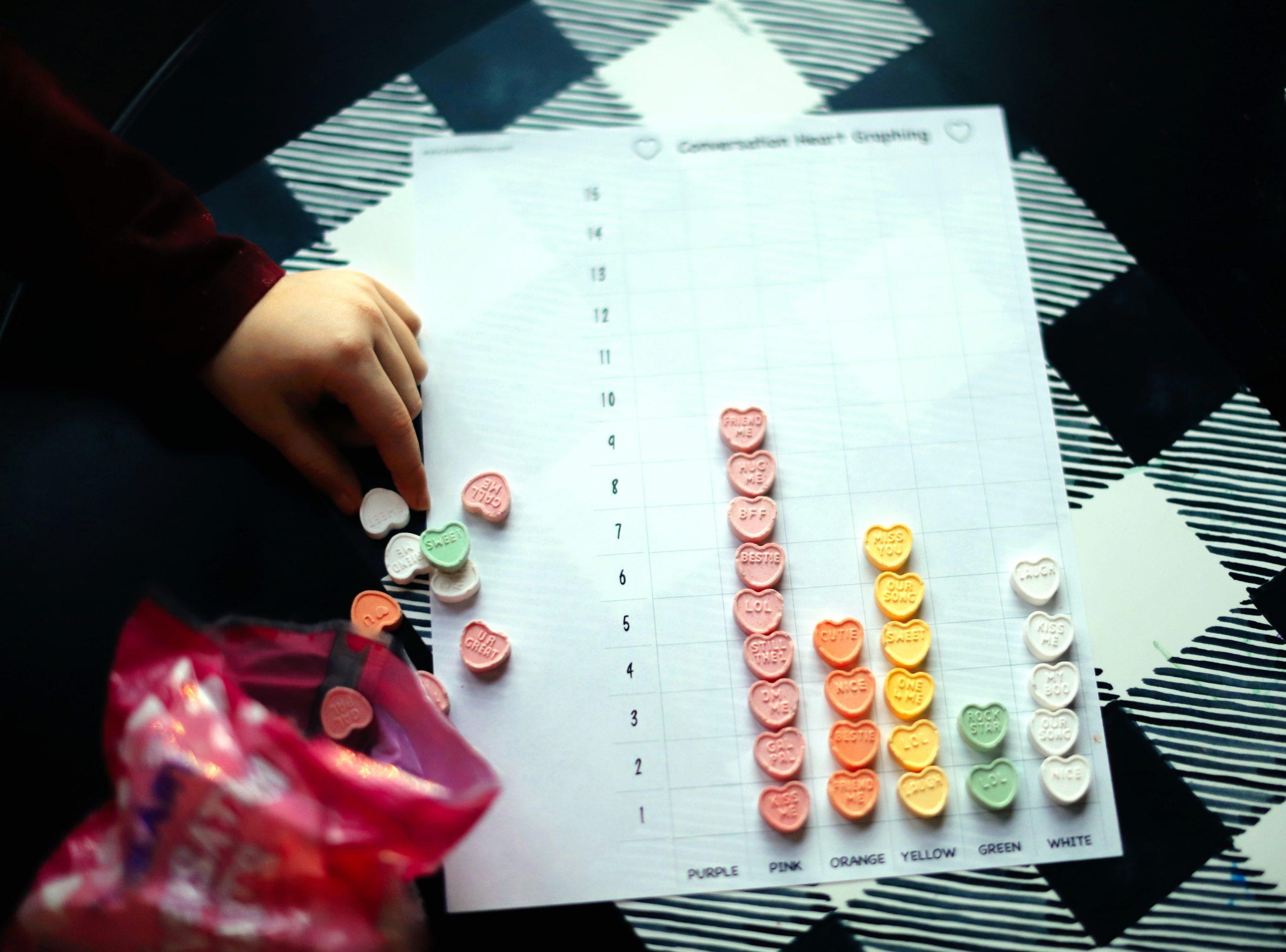 Conversation Heart Activities for Kids